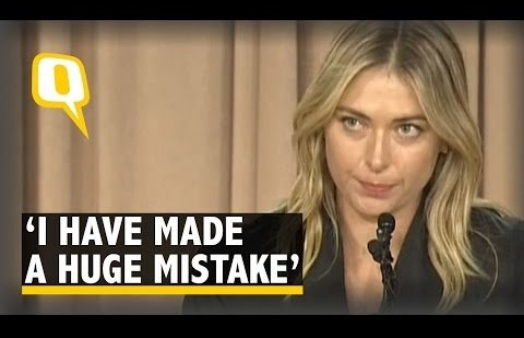 sharapova mistake