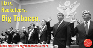 big tobacco racketeers